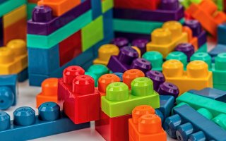 multi color building blocks