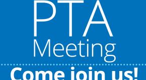 PTA Meeting - 9/13/18