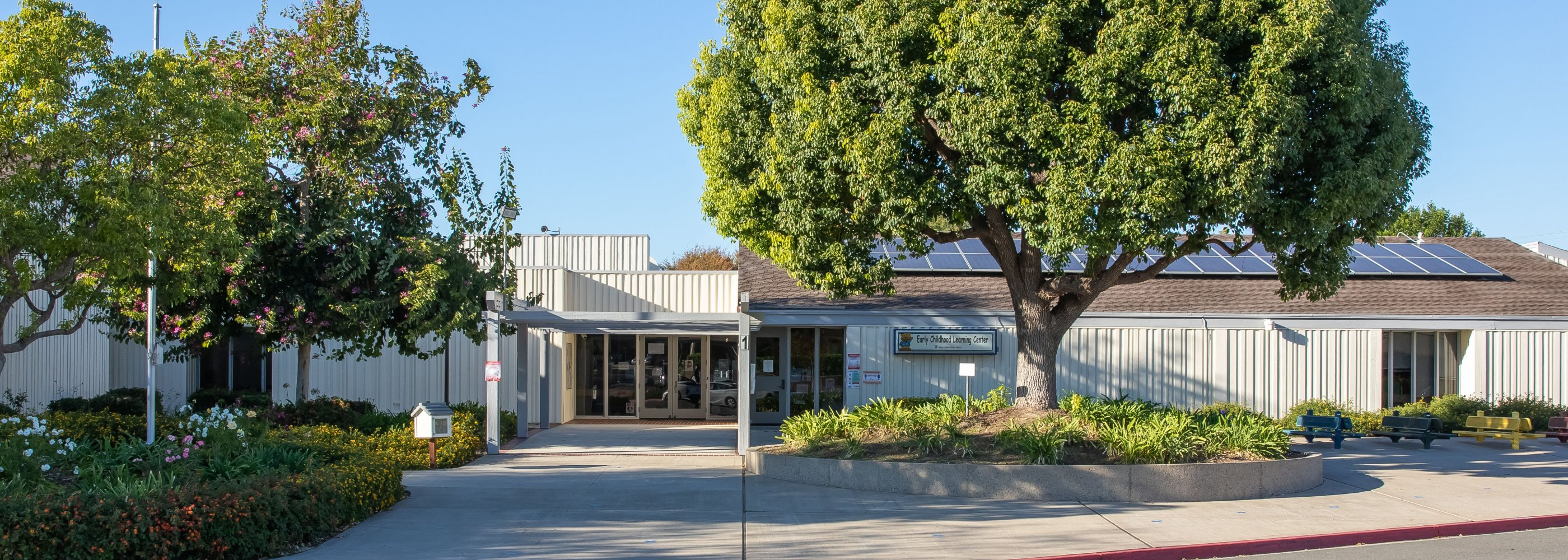 ECLC School Entrance
